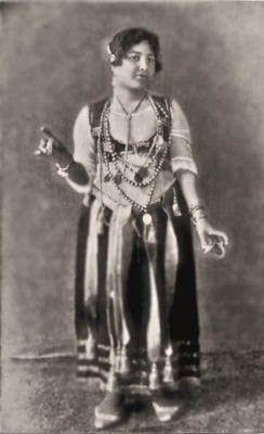 Farida Mazar - Spyropoulos aka Little Egypt