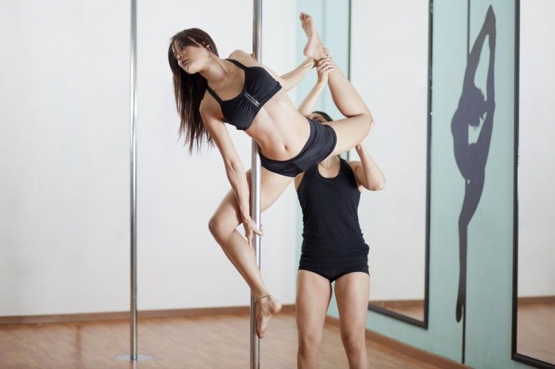 Spotting Pole Fitness