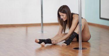 Προετοιμασία για το μάθημα Pole Dancing