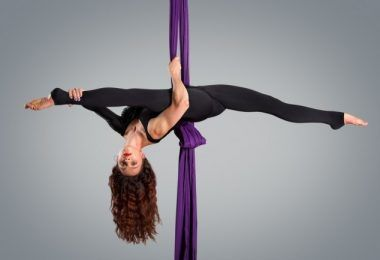 Exploring the history behind aerial silks