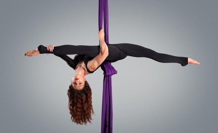 Exploring the history behind aerial silks