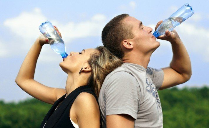 Hydration and exercise. How much water should I drink?