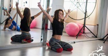 Η Daria Chebotova στο workshop exotic pole