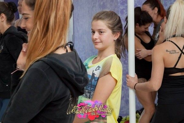 Anastasia Skuktorova. Pole classes especially for kids