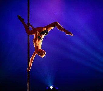 "Heidi Coker: ""Stress on the body like any other sport""_Εναέρια ακροβατικά και Pole Dance για παιδία"