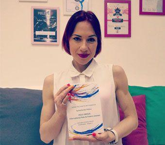 "Polina Syniachenko: ""I say YES!""_Εναέρια ακροβατικά και Pole Dance για παιδία"