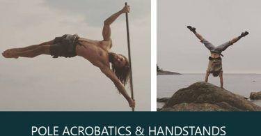 Σεμινάριο Pole Acrobatics και Handstands με τον Konstantin Kosovec