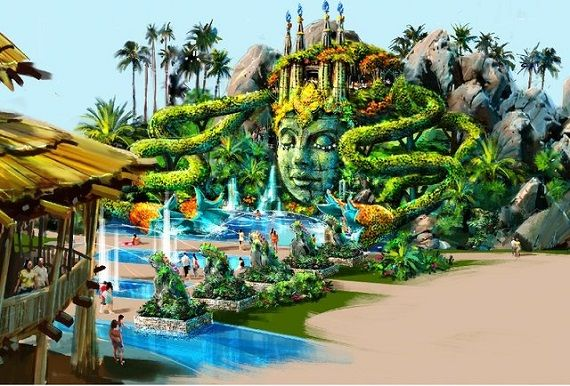 Cirque du Soleil is building a park, and it looks insane