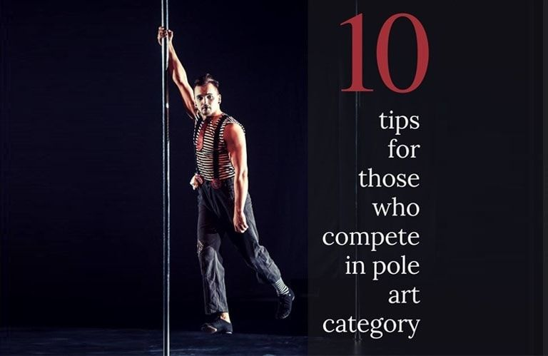 Vladimir Karachunov: 10 tips for those who compete in Pole Art category