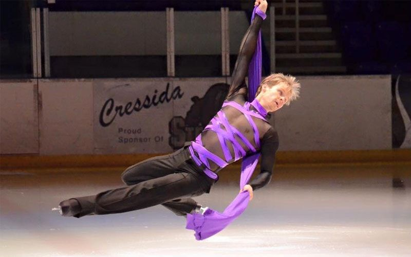 Mark Hanretty introduces Aerial Ice: A breathtaking combination of skating and aerial arts