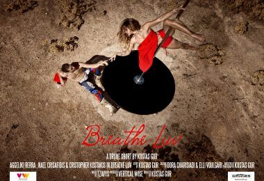 #breatheluv The multi-nominated and award winning pole dancing short movie which left audiences breathless