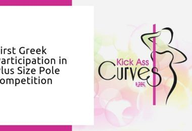First greek participation in plus size pole competition