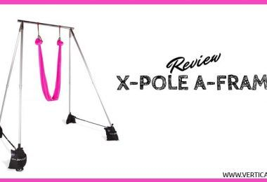X-Pole A-Frame Review. Portable Aerial Rig for Lyra, Silks & Aerial Yoga
